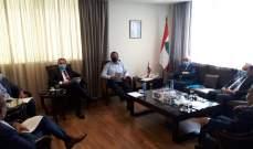 وزراء الصناعة والإتصالات والأشغال والصحة والزراعة ينسّقون التعاون مع سوريا