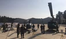 بدء وصول أهالي شهداء معارك الجرود لقاعدة رياق الجوية للمشاركة باحتفال النصر