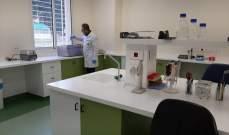 افرام: وضع مختبر مصلحة الابحاث لفحص الفيروسات بتصرف الدولة