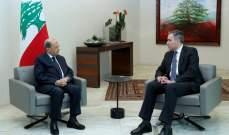 مصادر للشرق الأوسط: عون يتحمل مسؤولية حيال تأخير تشكيل الحكومة
