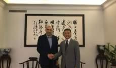 مدير عام الزراعة بحث مع السفير الصيني في تصدير المنتوجات الزراعية