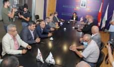 طليس: سنعلن التصعيد والإضراب والمظاهرات إذا لم تتحقق المطالب بـ9 تموز