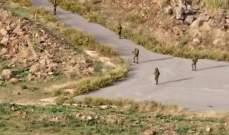 النشرة: قوة من الجيش الإسرائيلي قامت بعملية تمشيط ومسح على طول الطريق العسكرية مقابل منتزهات الوزاني
