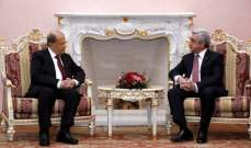 الرئيس عون: لبنان متمسك بحدوده البرية والبحرية وبحقه في الدفاع عنها