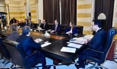 بدء اللقاء بين رئيس الحكومة ووفد خبراء صندوق النقد الدولي بحضور وزير المال