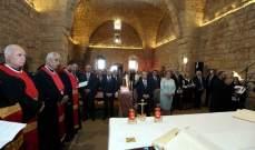 الرئيس عون: على اللبنانيين ان ينهلوا من رسالة دير مار يوحنا القلعة العابق بروح الشهادة