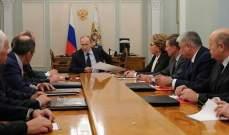 مجلس الأمن الروسي يبحث الوضع في سوريا وخاصة مخيم الركبان