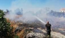 الدفاع المدني: إخماد 4 حرائق مختلفة في كفرشلان وبنت جبيل والبابلية والمنية