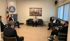 تيمور جنبلاط بحث مع عربيد بإجراءات للحد من تداعيات الأزمة الاقتصادية