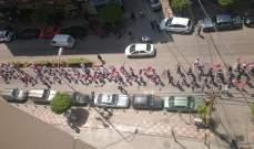 انطلاق مسيرة الارمن بذكرى الابادة من انطلياس باتجاه برج حمود