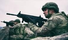 """الدفاع التركية: القضاء على 11 إرهابيا من """"ي ب ك"""" شمالي سوريا"""