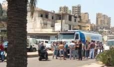 محتجون في البداوي صادروا صهريج مازوت