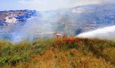الدفاع المدني: إخماد 3 حرائق مختلفة في قرطبا وبخعون والربوة