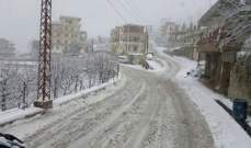 انقطاع الكهرباء عن الضنية واتحاد البلديات يستنفر لفتح الطرقات