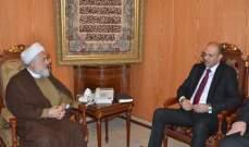 الخطيب التقى وزير الصحة: لضرورة امتثال المواطنين لتوجيهات الوزارة