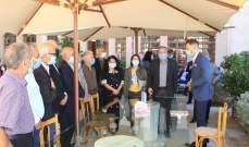 تيمور جنبلاط تفقد مشروع مياه الباروك الجديد: سيكون نموذجيا على الصعد الهندسية والادارية والإنتاجية