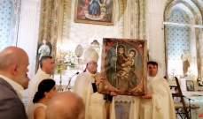 المطران نفاع ترأس احتفال رعية بقاعكفرا بعيد ميلاد العذراء مريم