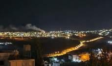 دوي انفجارات في بيت لحم تبين أنها ناجمة عن انفجار قارورة غاز