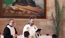 القداديس في عيد الشعانين عمت مختلف الاديرة والكنائس في مدينة النبطية