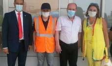 مناورة ضمن المنشآت في جبيل شملت سيناريو اطفاء حريق واخلاء موظفين