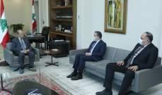 الرئيس عون عرض حاجات عكار مع النائب اسعد درغام