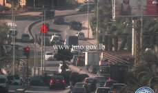 تعطل مركبة على طريق عام جسر الباشا باتجاه الحازمية وحركة المرور كثيفة