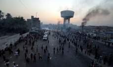 قوات مكافحة الإرهاب العراقية تطلق الرصاص لمنع محتجين من اقتحام مطار بغداد