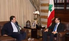 الحريري استقبل السفيرين الفرنسي والمصري