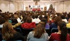 الخوري ترأس قداس الميلاد بمستشفى سيدة المعونات: ولادة يسوع هي ثورة الحب على البغض