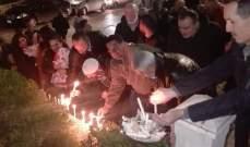 مسيرة رمزية في مرجعيون حاصبيا بمناسبة الذكرى الـ42 لميلاد كمال جنبلاط