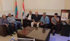 سعد التقى وفداً من اتحاد بلديات صيدا الزهراني