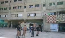 النشرة: دورية لشرطة بلدية صيدا جالت في أرجاء مجمع الاوزاعي للنازحين السوريين