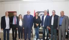خريش زارت حمدان: لبنان سينتقل لمرحلة أفضل وسيشعر اللبنانيون بذلك بالقريب العاجل