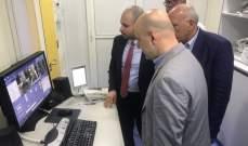 حاصباني يحضر المناورة الحية التي نفذتها وزارة الصحة في رياق