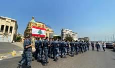 مسيرة راجلة لقوى الأمن الداخلي في ذكرى انفجار المرفأ