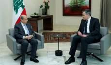 اديب بعد لقاء الرئيس عون: نحن في مرحلة التشاور