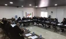 اللبكي ترأس اجتماعا تقييميا لتداعيات العاصفة في عكار