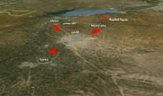 """""""سانا"""": سماع دوي انفجارات في محيط مطار الضبعة بريف حمص الجنوبي الغربي"""