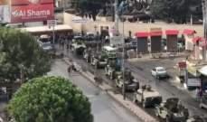 النشرة: الجيش حاول فتح الطريق في تعلبايا