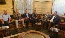وفد من اتحاد بلديات بعلبك زار وزير الصحة