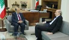 جنبلاط تلقى اتصالا من الرئيس عون تم خلاله التطرق إلى الأوضاع العامة