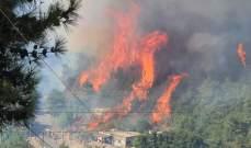 النيران لا تزال مشتعلة في جرود الهرمل والاهالي ناشدوا المعنيين للتدخل