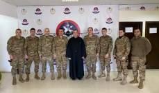 الأب بو عبود لقائد الجيش: قيادتكم الحكيمة أنقذت لبنان من خطر كبير