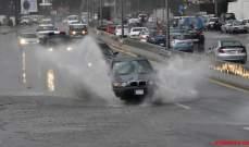 النشرة: اشتداد العاصفة في مدينة النبطية وإقليم التفاح