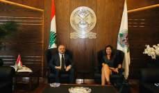 بو صعب استقبل السفيرة النروجية الجديدة والسفير البلغاري الجديد