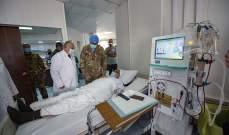 الكتيبة الإيطالية باليونيفيل رممت وأهّلت قسم الأمراض الداخلية بمستشفى بنت جبيل الحكومي