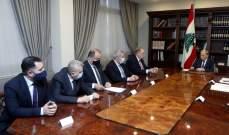الرئيس عون شدد على ضرورة وضع فكرة انشاء السوق العربي المشرقي المشترك موضع التنفيذ