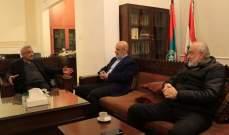 سعد التقى وفدا من الجماعة الإسلامية: نحذر من الانفجار الاجتماعي في ظل الاوضاع الصعبة