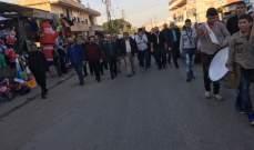 مسيرة كشفية في حلبا في ذكرى المولد النبوي