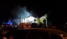 مقتل 8 أشخاص وإصابة 10 في حريق فندق بأوكرانيا